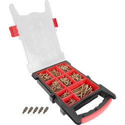 ForgeFast ForgeFast Organiser Pro Grab Pack 1000 Pc - 58498 - from Toolstation