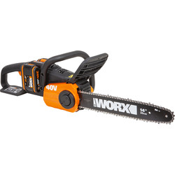 Worx Worx 40V (2x20V) 35cm Brushless Chainsaw 2 x 2.0Ah - 58511 - from Toolstation