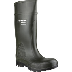 Dunlop Dunlop Purofort Professional C462933 Safety Wellington Green Size 11 - 58519 - from Toolstation