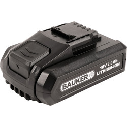Bauker Bauker 18V Battery 2.0Ah - 58530 - from Toolstation