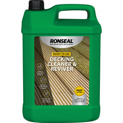 Ronseal Ronseal Decking Cleaner & Reviver 5L - 58567 - from Toolstation