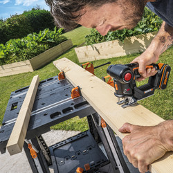 Worx WX550 20V MAX Li-Ion Cordless Axis Multi Purpose Saw