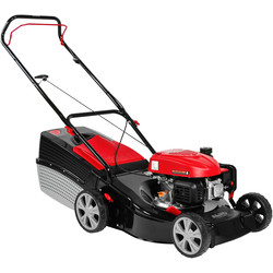 AL-KO AL-KO Classic 123cc 46cm Petrol Lawnmower 4.66 P-A Push - 58618 - from Toolstation