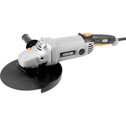 Bauker Bauker 2200W 230mm Angle Grinder 230-240V - 58718 - from Toolstation