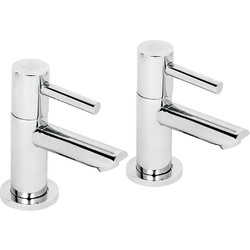 Deva Deva Insignia Taps Basin Pillar - 58728 - from Toolstation
