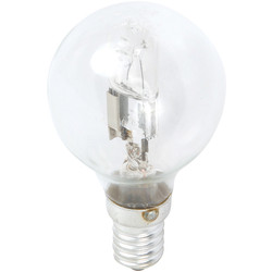 Sylvania Sylvania Energy Saving Halogen Ball Lamp 28W ES (E27) 370lm - 58742 - from Toolstation