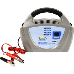 Ring Automotive Ring Fully Auto Battery Charger 12V/8A - 58775 - from Toolstation