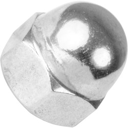 Stainless Steel Dome Nut M6 - 58813 - from Toolstation