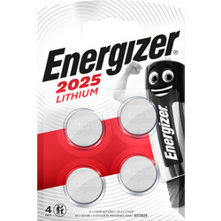 Energizer Energizer Lithium CR2025 FSB4 2025 - 58848 - from Toolstation
