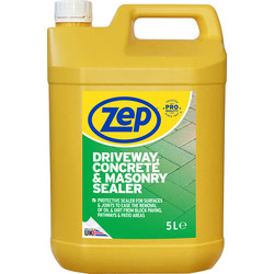 Zep Zep Commercial Driveway, Concrete & Masonry Sealer 5L - 58861 - from Toolstation