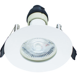 Integral LED Integral LED Evofire IP65 Fire Rated Downlight White - 58865 - from Toolstation