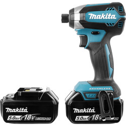Makita Makita DTD153RTJ LXT 18V Li-Ion Cordless Impact Driver 2 x 5.0Ah - 58947 - from Toolstation