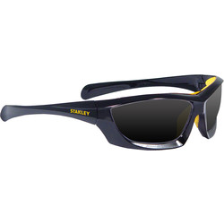 Stanley Stanley Full-Frame Safety Glasses with Padded Brow Guard Smoke - 59086 - from Toolstation