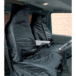 Streetwize Streetwize Heavy Duty Van Seat Cover Set Black - 59115 - from Toolstation