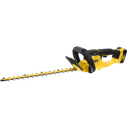 DeWalt DeWalt DCMHT563 18V 55cm Cordless Hedge Trimmer 1 x 5.0Ah - 59229 - from Toolstation