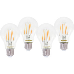 Sylvania Sylvania LED RT A60 Filament Clear GLS Lamp 7W ES (E27) 806lm - 59238 - from Toolstation