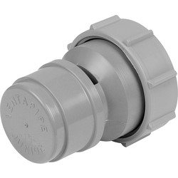 McAlpine McAlpine VP15M Air Admittance Valve Grey - 59271 - from Toolstation