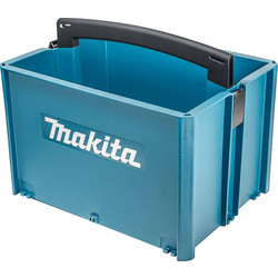 Makita Makita MakPac Stackable Tool Box Large - 59301 - from Toolstation
