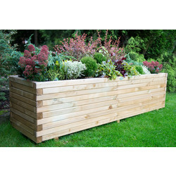 Forest Garden Lomello Planter 50cm (h) x 180cm (w) x 50cm (d) - 59402 - from Toolstation