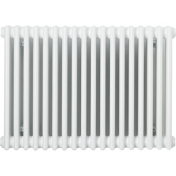 Arlberg Arlberg 4-Column Horizontal Radiator 600 x 1176mm 6800Btu White - 59434 - from Toolstation