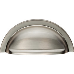 Carlisle Brass Oxford Cup Pull 76mm Satin Nickel - 59451 - from Toolstation