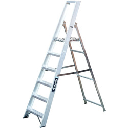 TB Davies TB Davies Industrial Platform Step Ladder 6 Tread SWH 2.9m - 59534 - from Toolstation
