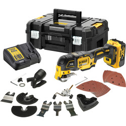 DeWalt DeWalt 18V XR Oscillating Multi-Tool (3 Speed) 1 x 5.0Ah - 59706 - from Toolstation