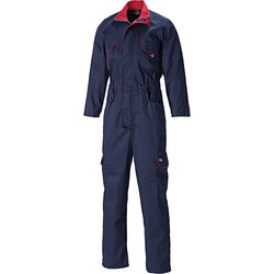 Dickies Dickies Redhawk Women's Zip Front Coverall Size 10 Navy - 59767 - from Toolstation