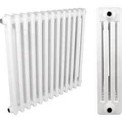 4 Column Radiator 602 x 609mm 2084Btu - 59834 - from Toolstation