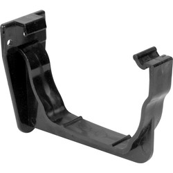 Aquaflow 120mm Ogee Fascia Bracket Black - 59858 - from Toolstation