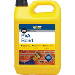 Everbuild Everbuild 501 PVA Bonding Agent 5L - 59879 - from Toolstation