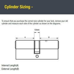 Yale 6 Pin Euro Double Cylinder