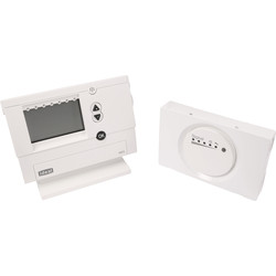Ideal Boilers Ideal Logic+ / Vogue2 RF Electronic Programmable Room Thermostat  - 59955 - from Toolstation