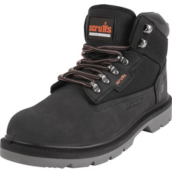 Scruffs Twister Safety Boot Black Size 6