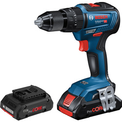 Bosch Bosch GSB18V-55 18V Li-ion Brushless Compact Combi Drill 2 x 4.0Ah Pro Core - 60079 - from Toolstation