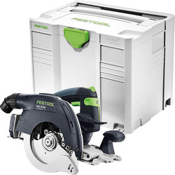 Festool Festool HKC 55 Li 18V Li-Ion Cordless 160mm Circular Saw 2 x 5.2Ah - 60120 - from Toolstation