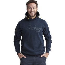 Snickers Workwear Snickers Logo Hoodie Large Navy - 60143 - from Toolstation