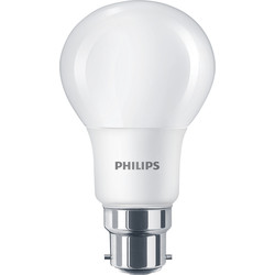 Philips Philips LED A Shape Lamp 8W BC (B22d) 806lm - 60173 - from Toolstation