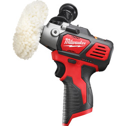 Milwaukee Milwaukee M12BPS-0 12V Li-Ion Sub Cordless Compact Polisher/Sander Body Only - 60255 - from Toolstation