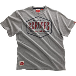 Scruffs Scruffs Authentic T Shirt Medium Grey - 60379 - from Toolstation