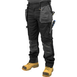"CAT Caterpillar H2O Defender Trousers 34"" S - 60390 - from Toolstation"