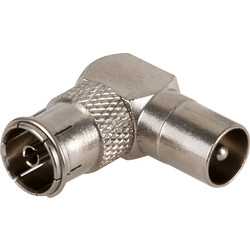 PROception PROception Inline Coupler TV Coax Right Angled Connector - 60402 - from Toolstation