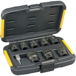 DeWalt DeWalt Impact Socket Set  - 60418 - from Toolstation