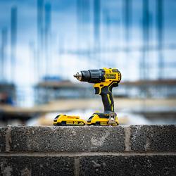 DeWalt DCD709D2T-GB 18V XR Brushless Compact Combi Drill
