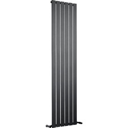Ximax Ximax Oxford Single Designer Radiator 1800 x 445mm 2836Btu Anthracite - 60597 - from Toolstation