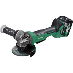 Hikoki Hikoki G3613DB 36V 125mm MultiVolt Brushless Grinder 2 x 2.5Ah Multivolt - 60601 - from Toolstation