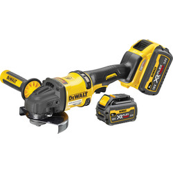 DeWalt DeWalt 54V XR FlexVolt High Power 125mm Angle Grinder 2 x 6.0Ah - 60610 - from Toolstation