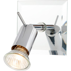 Mercury Mirror Plated GU10 Single Spotlight