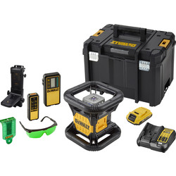 DeWalt DeWalt 18V XR Rotary Green Laser  - 60632 - from Toolstation