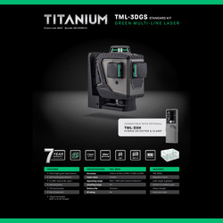 General Titanium Series Multi-line Laser Kit